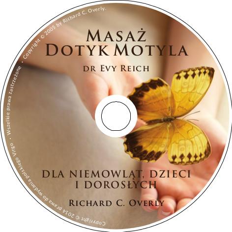 cd Masaż Dotyk Motyla Eva Reich